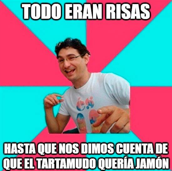 Chistaco,Jamón,risa,Tartamudo