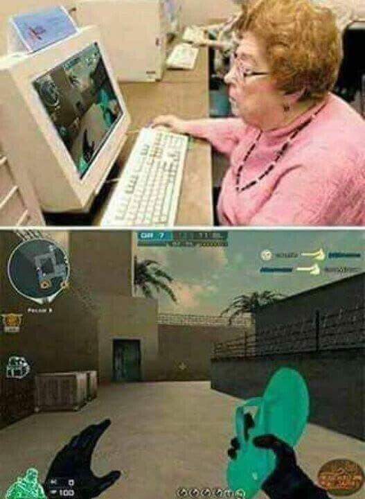 Meme_otros - Si las madres fueran gamers
