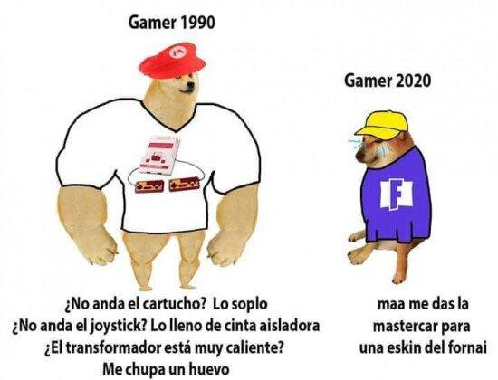 Otros - La involución de los gamers