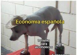 Enlace a Así se sustenta la economía española
