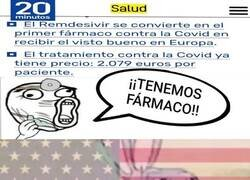 Enlace a EEUU compra todo el Remdisivir