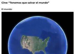 Enlace a Parece que solo exista Estados Unidos
