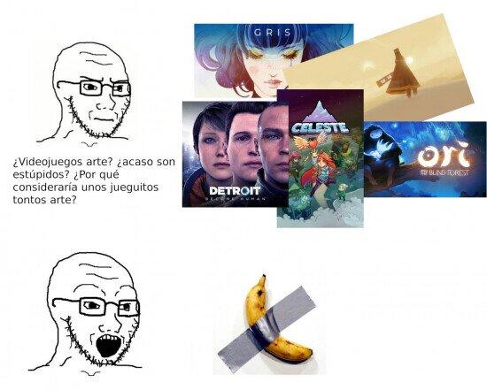 Meme_otros - La lógica de los 'entendidos' de arte