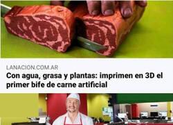 Enlace a Impresoras de carne. El futuro es ahora.