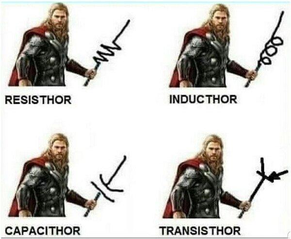 Meme_otros - Si Thor fuera electricista