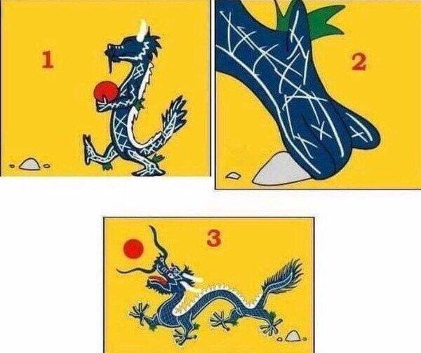 A_nadie_le_importa - El origen de la bandera Qing