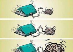 Enlace a Lo que provoca la lectura