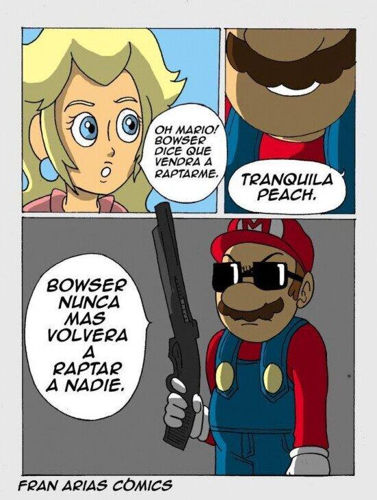 Otros - Mario se pone duro
