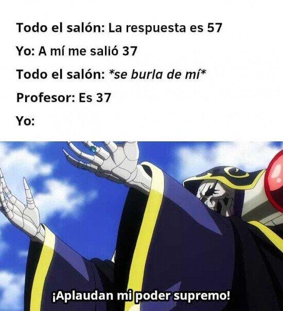 Meme_otros - Ese momento de superioridad personal en clase