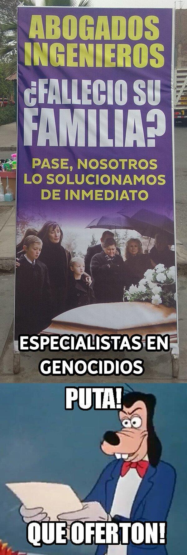 Otros - Asesorando genocidios