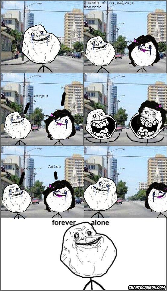 Forever_alone - Forever Alone es y siempre será Forever Alone