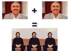 Enlace a Dos Juan y Medio es igual a tres Juanes
