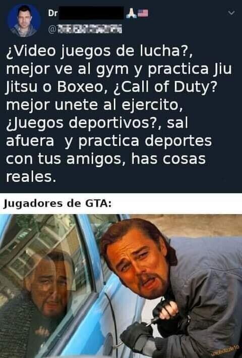 Meme_otros - ¿Y qué pasa con los que juegan al GTA?
