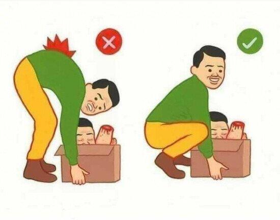 Otros - ¡Cuidado con las posturas!