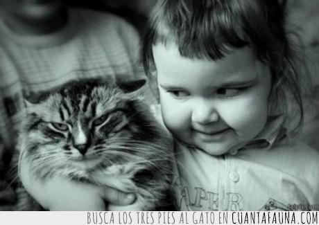 dúo,gato,maléfico,niña