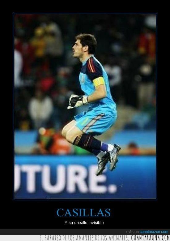 caballo,Casillas,invisible