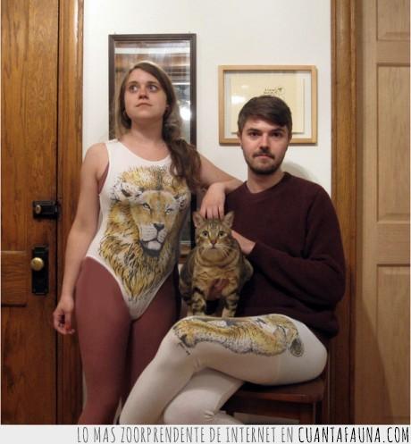 freak,gato,leon,mallas