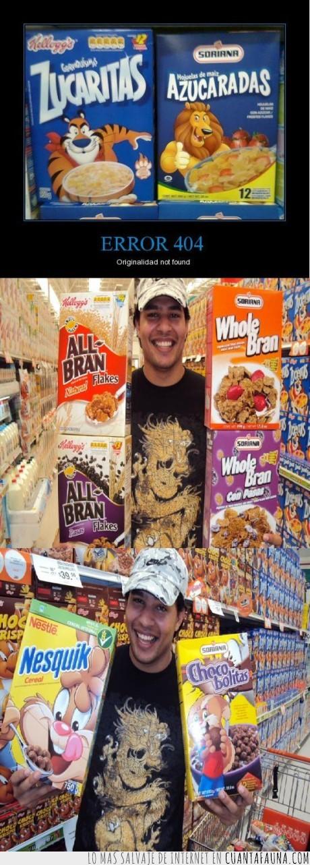 azúcar,cereales,fail,león,originalidad,tigre