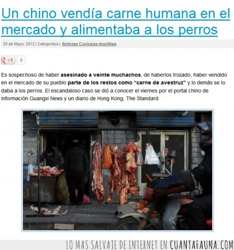 asesino,avestruz,carne,chino,hombre,humana,mercado,perro,vende