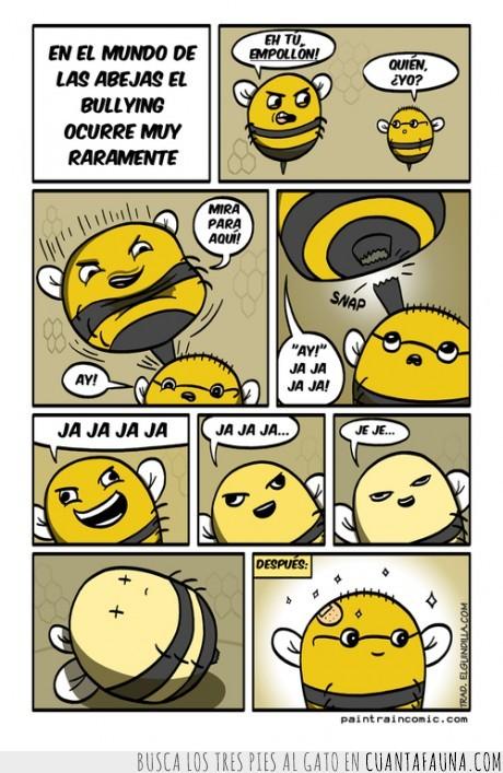 abeja,aguijon,bullying,la venganza,matar