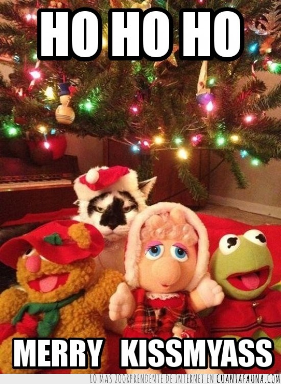 gorrito,muppets,navidad,peluches,poco espiritu navideño,teleñecos
