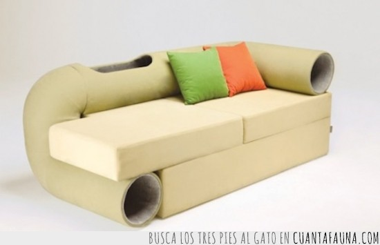 barato,bonito,cómodo,gatos,sofá