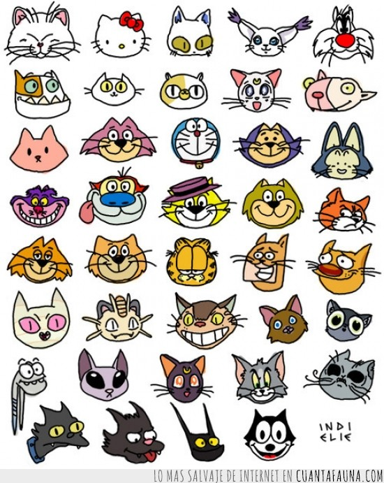bigotes,dibujados,dibujos animados,gatos,peliculas,series,television
