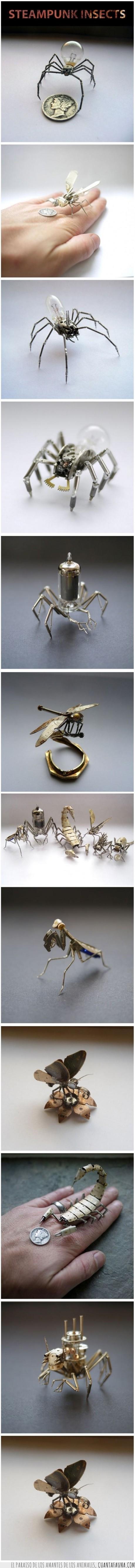 arte,bicho,insecto,steampunk