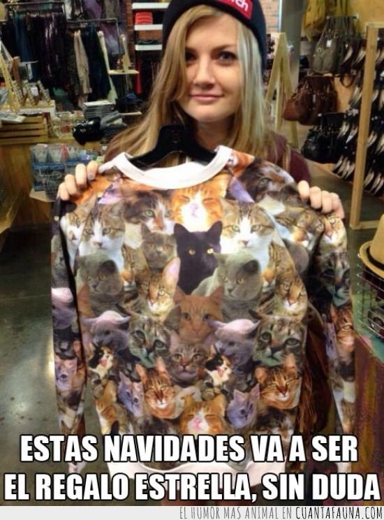 gato,increible,jersey,loca de los gatos,moda,ropa,tienda