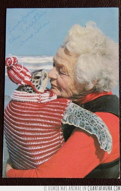 Abuela,Amor,ganchillo,jersey,punto,tejer,Tierno,tortuga