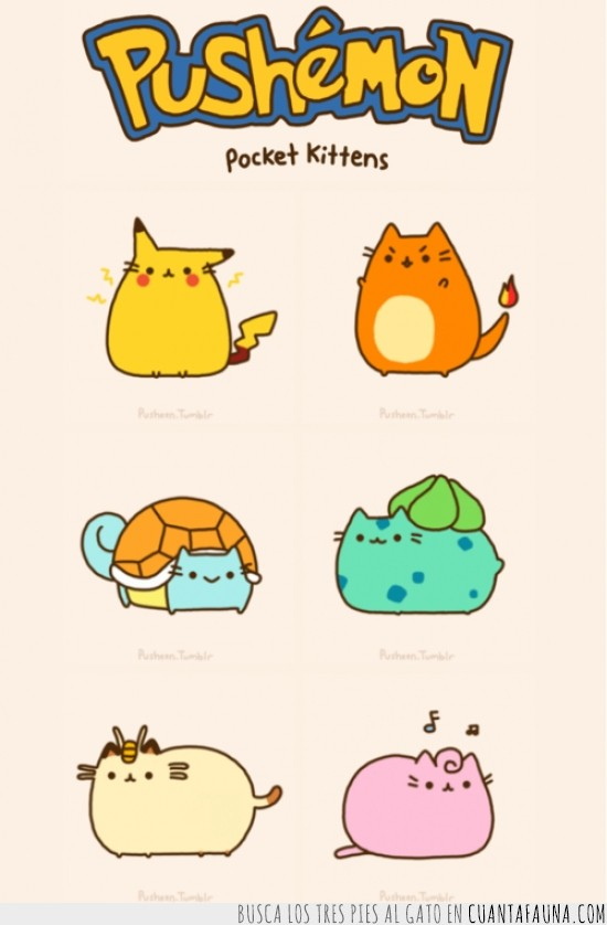 Bulbasaur,Charmander,Gatos,Jigglypuff,Meowth,Pikachu,Pokémon,Squirtle