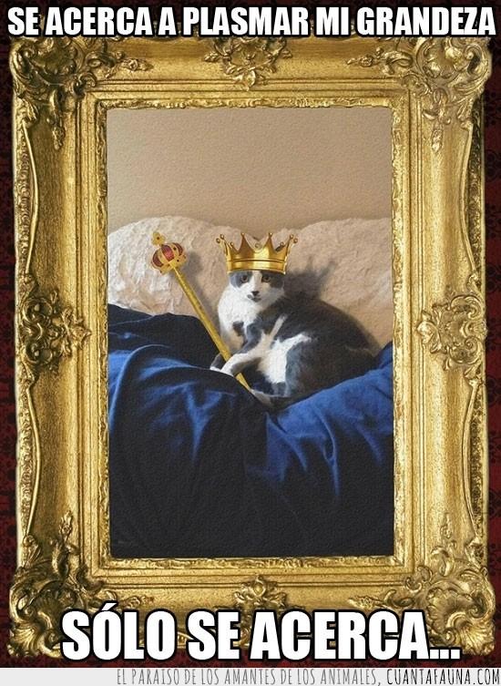 acercar,cetro,corona,cuadro,grandeza,rey