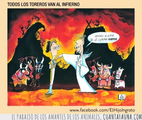 angel,castigo,esperar,infierno,todo,torero,trauma,vaca