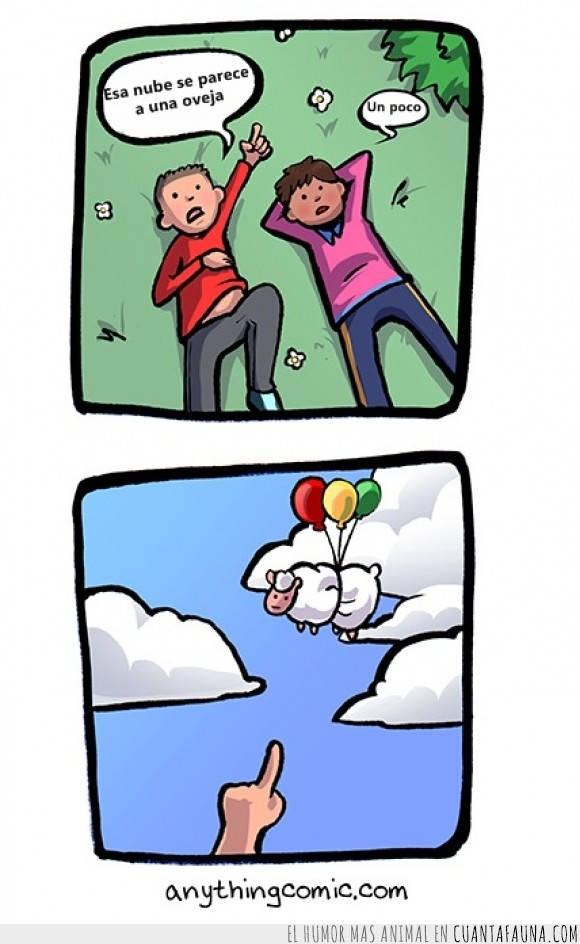 cielo,forma,globlos,mirar,nube,oveja,se parece a