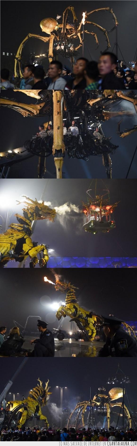 araña,asiáticos,caballo,china,fuego,power rangers,robots