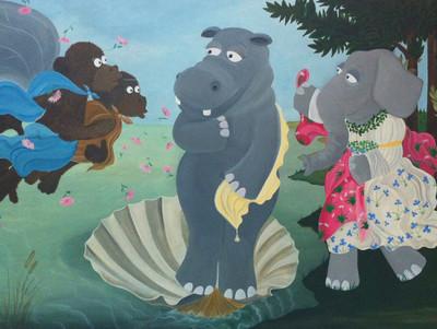 22274 - Thaïs Vanderheyden ilustra arte con animales para niños ¡Flipa con estos dibujos!