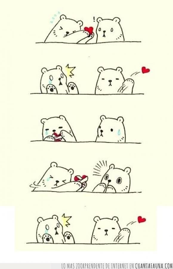 amor,corazon,destrozar,mandar por un tubo,mujeres mas que todo,osos,tirar
