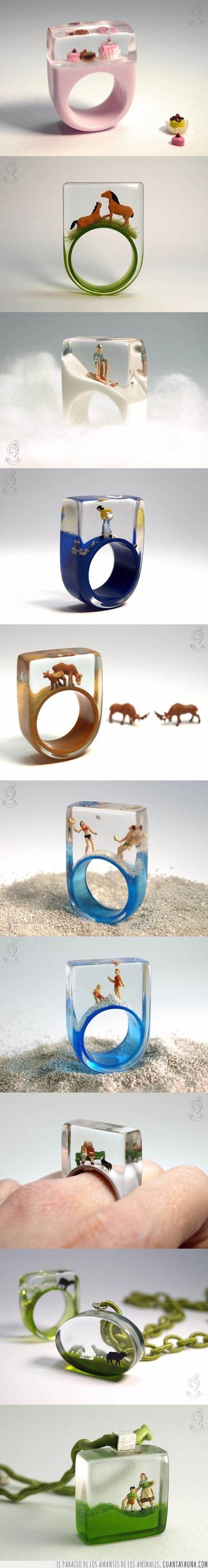 anillo,caballo,cupcake,joya,joyería,miniatura