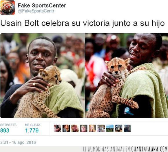corredor,Guepardo,hijo,Usain Bolt,velocidad,victoria
