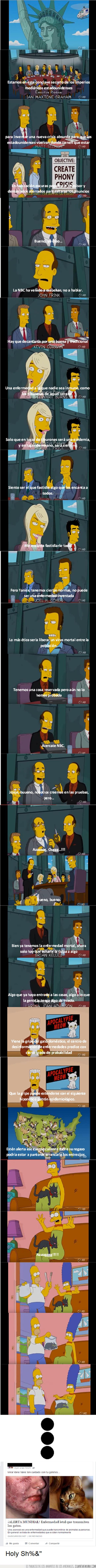 corporativos,futuro,gatos,predecir,Simpson