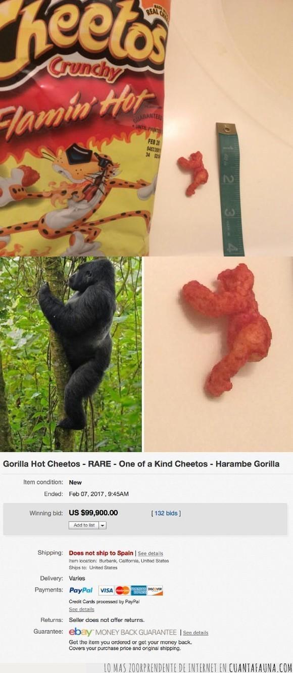 cheetos,ebay,gorila,harambe,venta