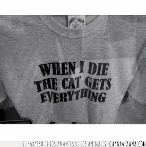 camiseta,gris,herencia,lema,llevar,morir,texto,todo