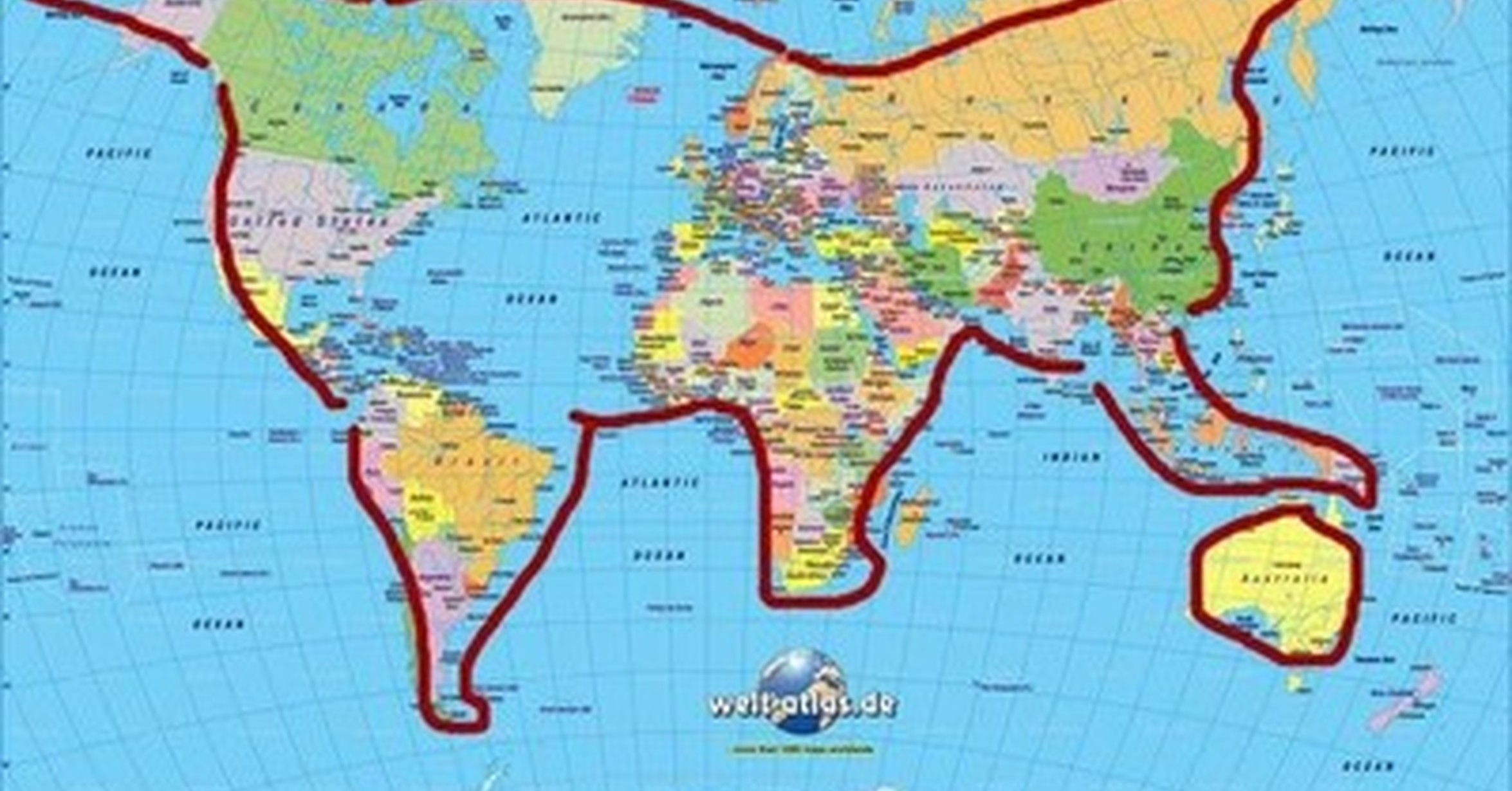 Worksheet. Cunta Fauna  El mundo no es ni plano ni redondo ni orbita