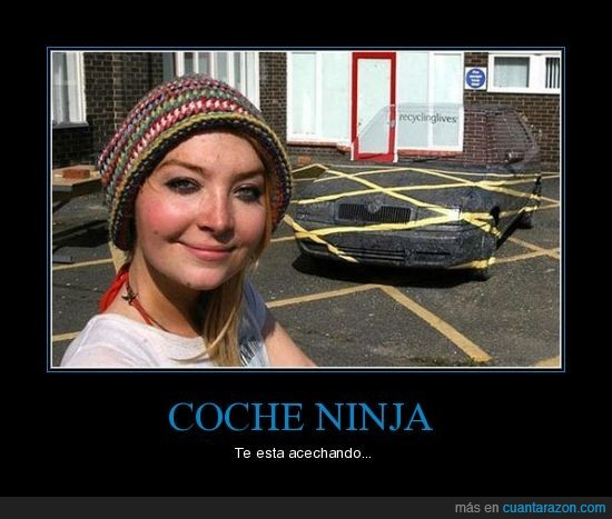 coche,invisible,ninja
