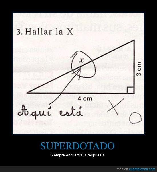 matemáticas,superdotado,trigonometría