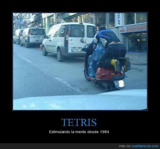 moto,piezas,tetris