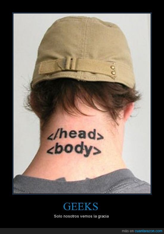 friki,geek,tatuaje