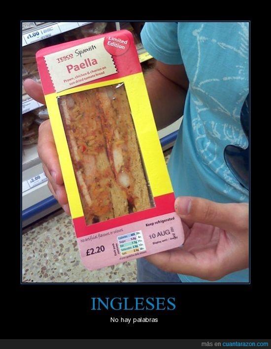 comida rapida,ingleses