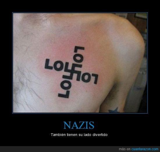 divertidos,nazis,tattoo