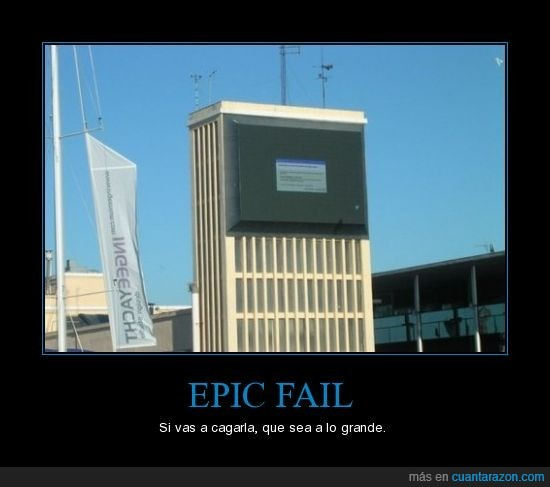 cagada,fail,windows